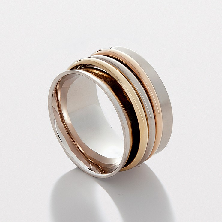 Inseparable Ring - 3 Bands