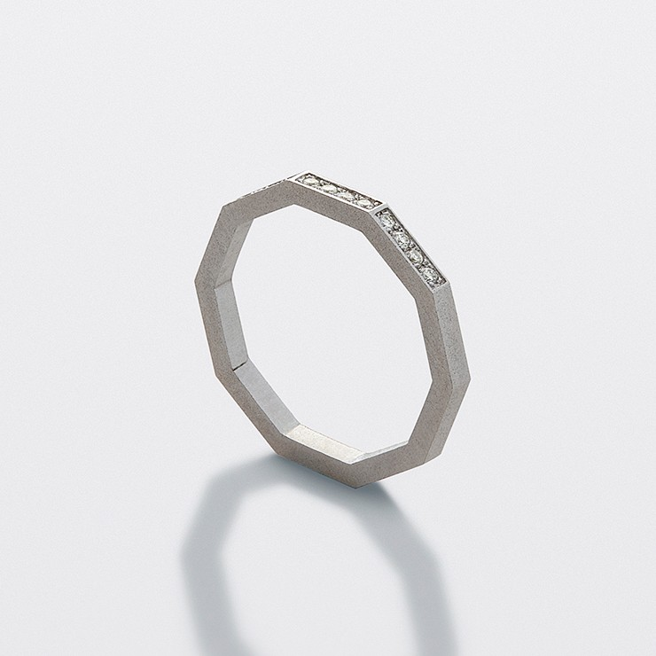 Decagon Ring